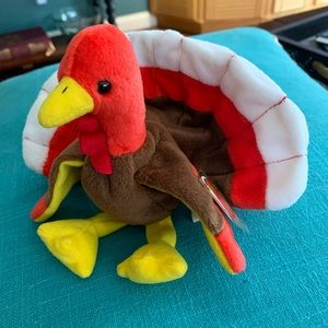 Gobbles the Turkey -retired Beanie Baby #4034